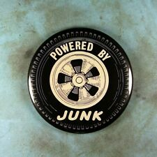 """Vintage Style Racing Water Decal Photo Fridge Magnet 2 1/4"""" Powered by Junk Tire"""