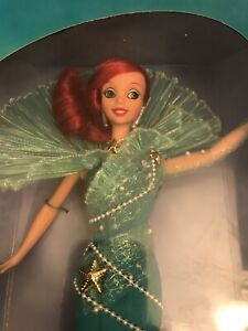 1997 Disney Collector Film Premier The Little Mermaid Aqua Fantasy Ariel Barbie