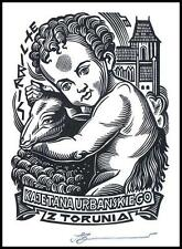 Leonenko Vasyl 2015 Exlibris X3 Bookplate Toruń Jesus Christ 1301