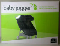 BABY JOGGER City Tour 2 Double Stroller Weather Rain Snow Shield