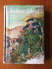 Treasure Island * R L Stevenson * Oxford Illust Classics * HB w DW