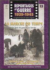 DVD REPORTAGE DE GUERRE 1939-1945 N° 13--JOUR DE GUERRE EN RUSSIE/CAMPAGNE HIVER