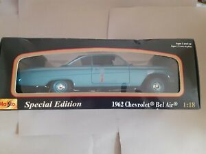 One MAISTO 1:18 1962 Chevrolet Bel Air, Special edition, in its box