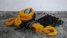 Harrington Cf050 20 10000 Lb Load Cap 20 Ft Hoist Lift Manual Chain Hoist