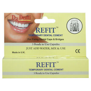 Dr Denti Refit™ -Temporary Dental Cement