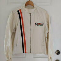 Vintage Champion Harley Davidson Racing Jacket 60s Cotton Mens Large