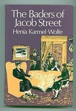 The Baders of Jacob Street Henia Karmel-Wolfe Hb War book 1971 Nazi terror