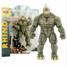 """6"""" MARVEL SELECT SPIDER-MAN VILLAIN THE RHINO ACTION FIGURES COMIC KIDS TOY"""