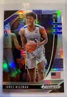 2020-21 Panini Prizm Draft Picks JAMES WISEMAN ** Silver Hyper ** Warriors RC #2