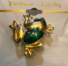 Frog Pin New - Giftboxed - Small Green Pin