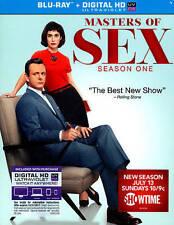 Masters of Sex Season One Blu-ray + Digital HD UV brand new