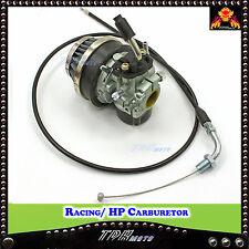 HP CARBURETOR THROTTLE CABLE 2 STROKE MOTORIZED BICYCLE 49/66/70/80cc ENGINE KIT