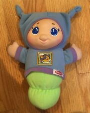 Playskool Musical Lullaby Blue Glow Worm, Preowned in Good Condition
