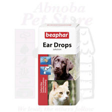 Beaphar Ear Drops kills ear-mites softens wax, sooth irritation assists healing