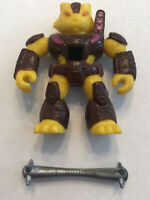 Battle Beasts Ferocious Tiger #3 Complete Weapon Takara Original Vintage Rub
