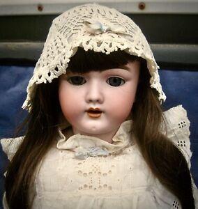 Antique German bisque head doll Handwerck 69-12X Germany 4 23in pierced ears