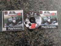 Formula 1 98 Original Black Label Playstation PSone PS1 PS2 PAL Complete