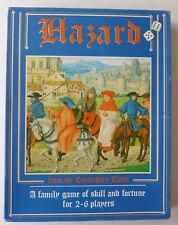 Past Times Hazard Board Game from Chaucer's Canterbury Tales 2-6 Players 1995