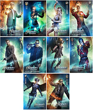 10pc Legends of Tomorrow Season 1 Movie Promo Cards Photo Card Card Stickers A11