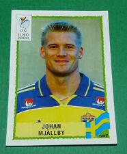 N°132 JOHAN MJÄLLBY SVERIGE SUEDE PANINI FOOTBALL UEFA EURO 2000