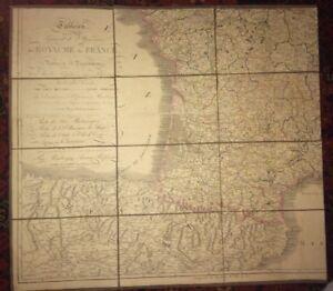 TABLEAU GÉNÈRAL ET ITINÉRAIRE DU ROYAUME DE FRANCE. 1828.