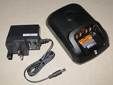 WPLN4254B Motorola Single Charger for DP3400 & DP4400 Series Radios 100% Genuine