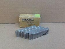 "Ridgid One Set 500-B Bolt Dies 9/16"" - 18 Unf Threader Threading Teeth #34"