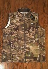 Under Armour Zephyr Fleece Camo Hunting Vest Men's Cold Gear 1316864-940 NWT $65