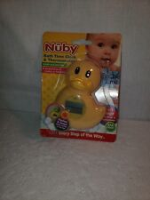 Nuby Baby Bath Time Clock and Thermostat - Flashes when too Hot