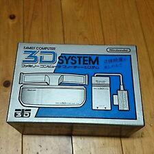 Nintendo 3D SYSTEM Scope HVC-3DS for Famicom NES full boxed