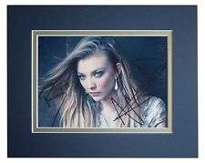 Natalie Dormer Signed Autograph 10x8 photo display Game of Thrones AFTAL & COA