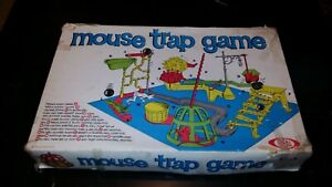 Vintage 1966 Mouse Trap Board Game by Ideal