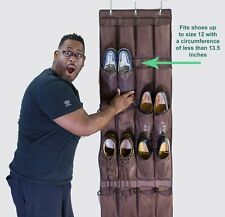 24 Pocket Door Hanging Shoes Organizer Storage Rack Wall Bag Room Closet Holder