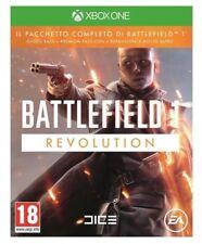 VIDEOGIOCO BATTLEFIELD 1 REVOLUTION XBOX ONE GIOCO ITALIANO + SEASON PASS NUOVO