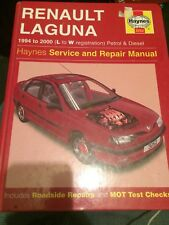 Haynes Manual 3252 ,Renault Laguna 1994 - 2000 (L to W reg) Petrol and Diesel .