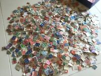 3000 vintage British Commonwealth Stamps Off paper Kiloware QV onward lot 5