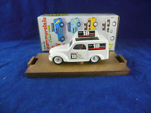 Brumm R57 Fiat 500 Commercial Van Amero 18 in White Scale 1:43