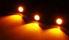 3x Amber LED Light Kit For 2009-2012 Ford F-150 Raptor Style Grille Truck Lights