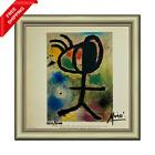 Joan Miro - Woman, Bird, Star, Original Hand Signed Print with COA