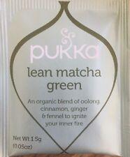 Pukka Tea 20 Sachets Organic Herbal Teabags - Lean Matcha Green