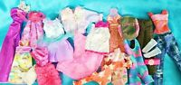 Large Lot of Contemporary Barbie and Other Fashion Doll Clothes S-10 See Photos!