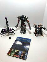 LEGO Bionicle LOT:  Boxor 8556 Makuta 8593, Purple Nui-Jaga only from 8548, book