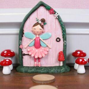 Fairy Door Ornament, Resin Woodland Themed, Fleur the Fairy