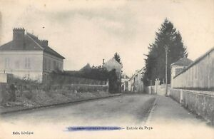 CPA 02 CHARLY SUR MARNE ENTREE DU PAYS