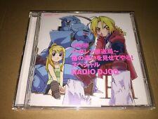 Fullmetal Alchemist Radio DJ CD Special [SVWC-7200] Japan Anime Audio CD