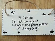 Wooden Humor Non Breed Specific Dog Signs & Plaques