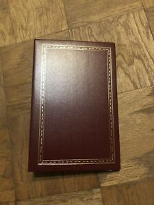 """Genuine Bonded Leather 4 X 6"""" Photo Album 3-Ring Binder 36 Pages Holds 216 Photo"""