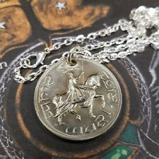 "Lord of the Rings Gondor ""Crown"" Coin of Gondor Aragorn Coronation Pendant"