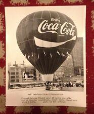 "Vintage Coca Cola 1976 St Louis Hot Air Balloon Race Photo By Bob Arteaga 8 x10"""