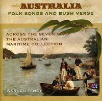 ACROSS THE SEVEN SEAS Australia Folk Songs And Bush Verse Warren Fahey CD NEW